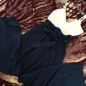 A'GACI Paperbag Waist Jumpsuit